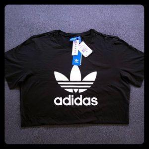 Brand New with Tags!  Addidas Trefoil Black Tshirt